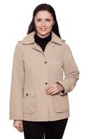 Ladies Hooded Stone Jacket db685
